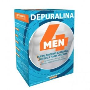 Depuralina 4 Men Cápsulas Queima-Gorduras 60unid.