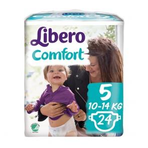 Libero Comfort T5 - 10 - 14 Kg x 24