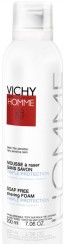 Vichy Homme Mousse Barbear Sem Sabão 200 ml