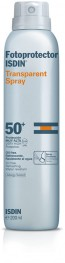 Isdin Fotoprotetor Spray Transparente FPS 50+ 200 ml